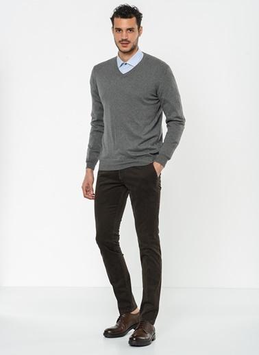 Slim Fit Pantolon-Beymen Business